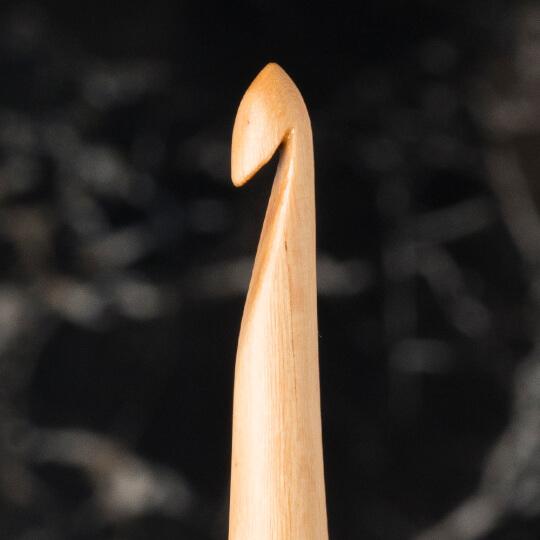 La Mia Whitewood 4 mm 15.5 cm Ahşap Yün Tığ