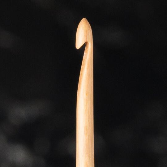 La Mia Whitewood 2 mm 15.5 cm Ahşap Yün Tığ