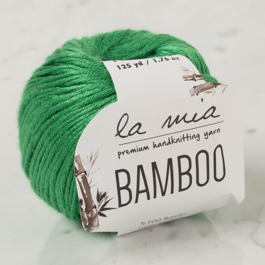 La Mia Bamboo Yeşil El Örgü İpi - L114