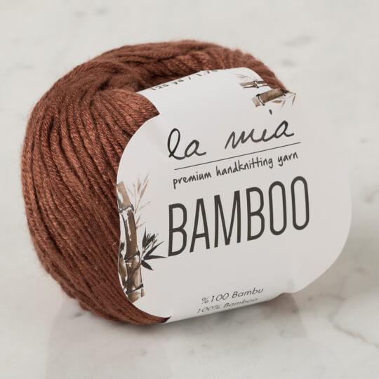 La Mia Bamboo Kahverengi El Örgü İpi - L087