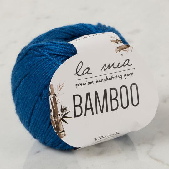 La Mia Bamboo Lacivert El Örgü İpi - L196