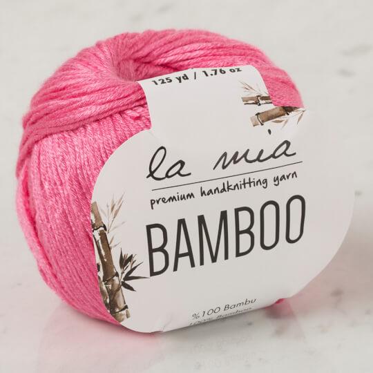 La Mia Bamboo Fuşya El Örgü İpi - L046