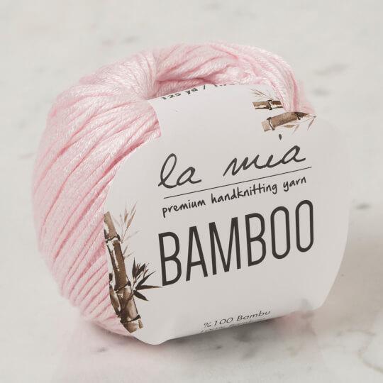 La Mia Bamboo Pembe El Örgü İpi - L057
