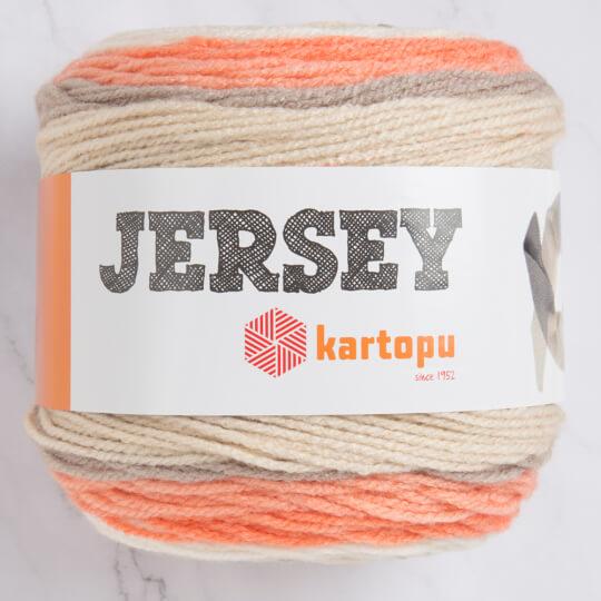 Kartopu Jersey Ebruli El Örgü İpi - H1657