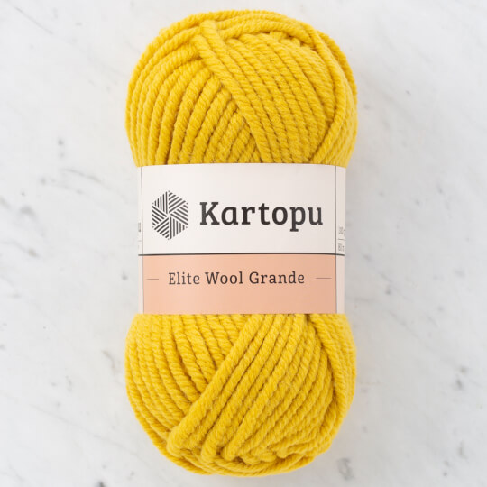 Kartopu Elite Wool Grande Hardal El Örgü İpi - K1333