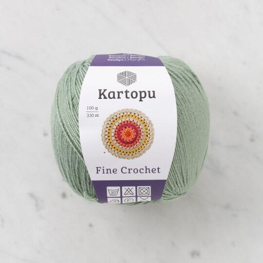 Kartopu Fine Crochet Pastel Yeşili El Örgü İpi - K1431