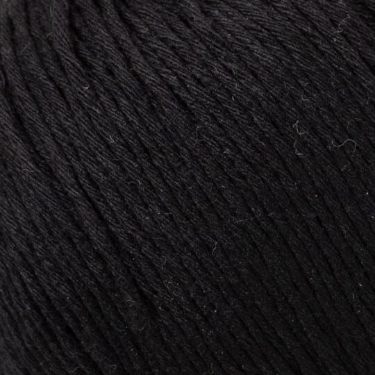 Loren Natural Cotton Siyah El Örgü İpi - R004