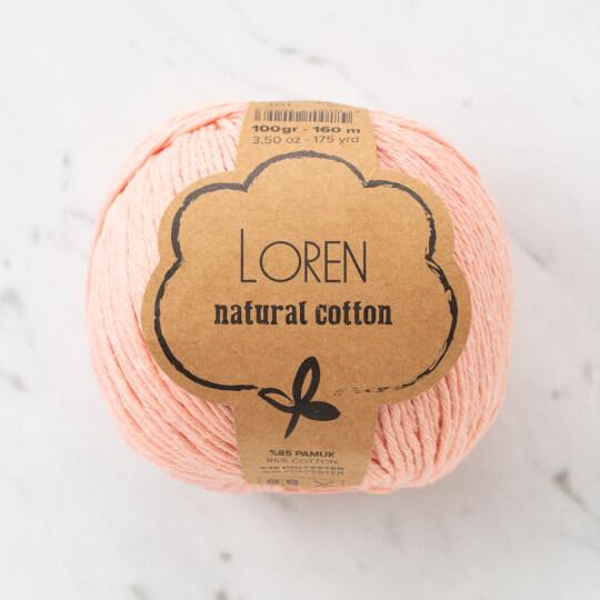 Loren Natural Cotton Açık Yavruağzı El Örgü İpi - R097