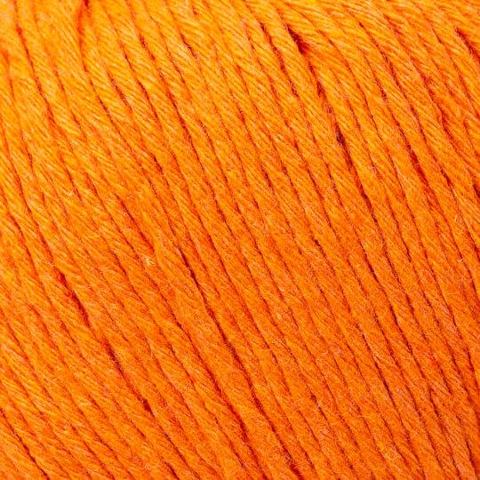 Loren Natural Cotton Koyu Turuncu El Örgü İpi - R096