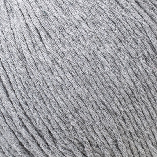 Loren Natural Cotton Gri El Örgü İpi - R079