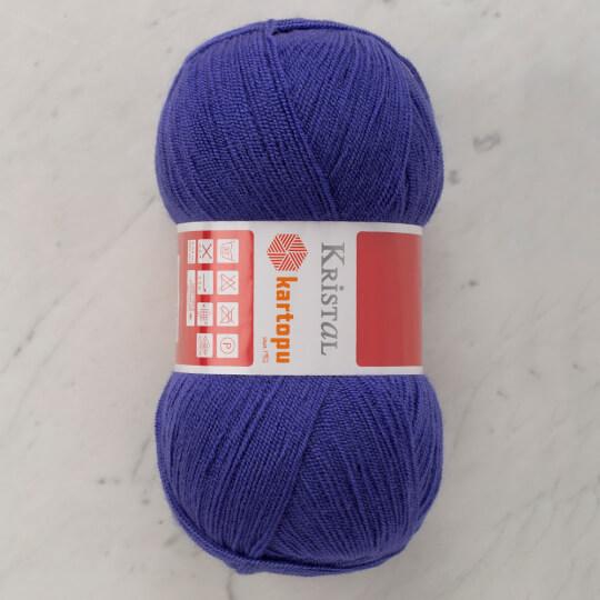 Kartopu Kristal Koyu Menekşe Mavisi El Örgü İpi - K1624
