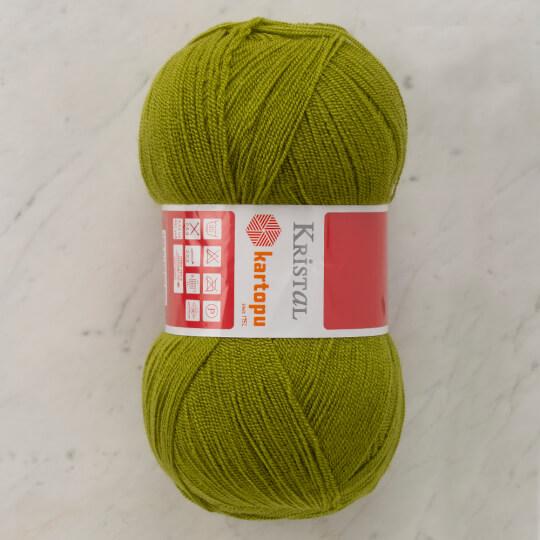 Kartopu Kristal Haki Yeşili El Örgü İpi - K457