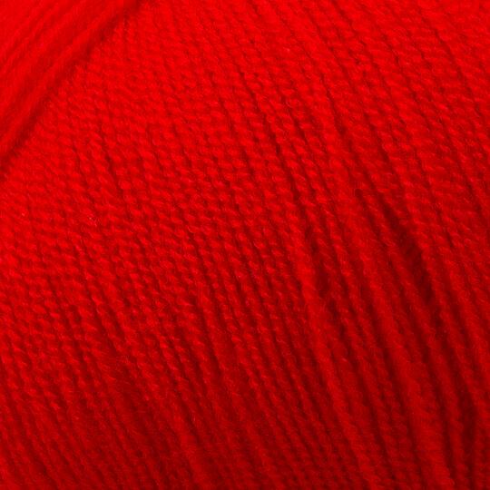 Kartopu Kristal Kırmızı El Örgü İpi - K1151