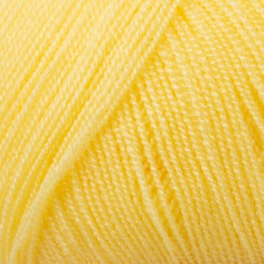 Kartopu Kristal Sarı El Örgü İpi - K1334