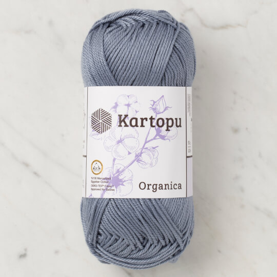 Kartopu Organica 50gr Antrasit El Örgü İpi - K571