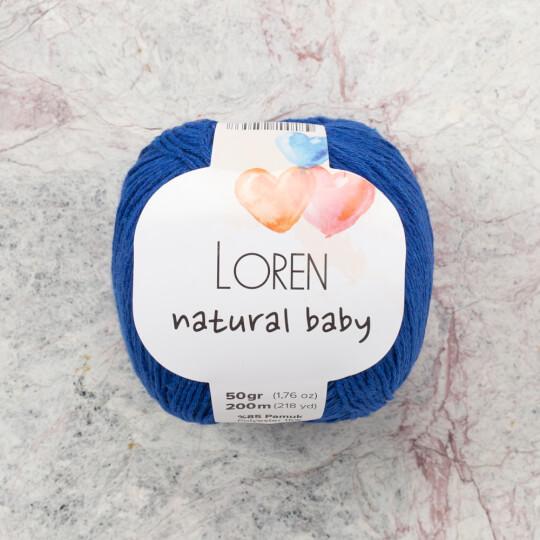Loren Natural Baby Mavi El Örgü İpi - R025