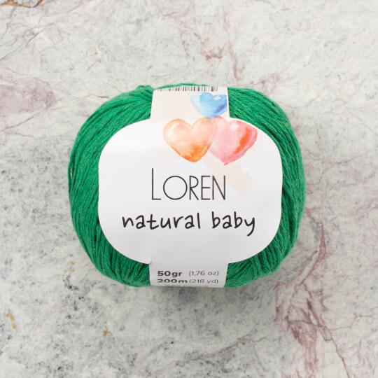 Loren Natural Baby Yeşil El Örgü İpi - R028