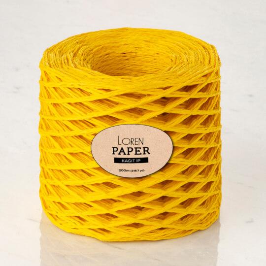 Loren Paper Hardal Sarı Kağıt İpi - RH24