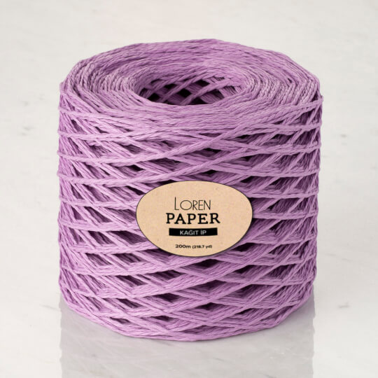 Loren Paper Lila Kağıt İpi - RH20