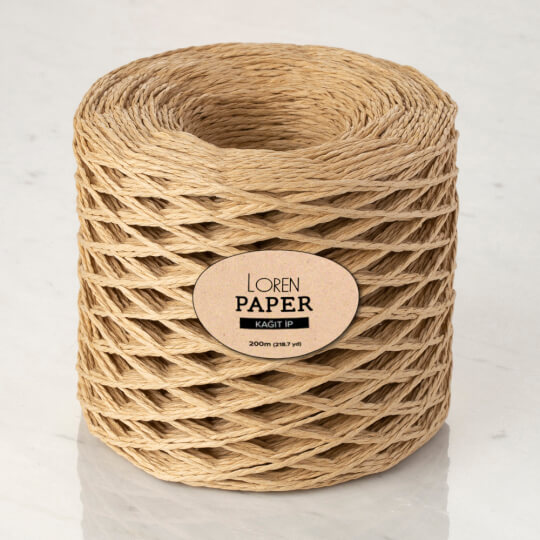 Loren Paper Bej Kağıt İpi - RH01