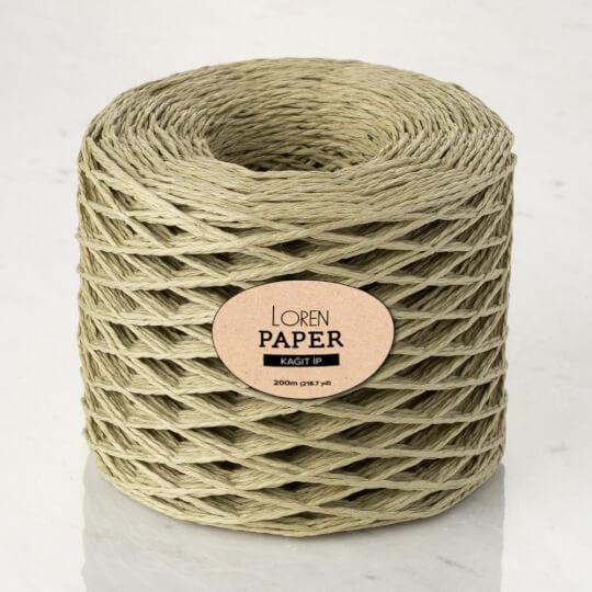 Loren Paper Küf Yeşili Kağıt İpi - RH09