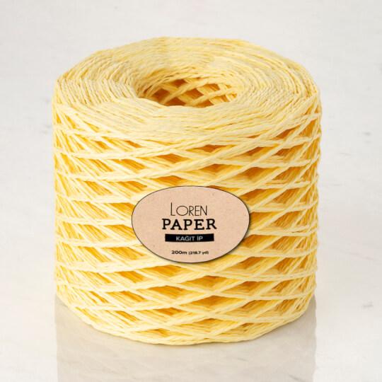Loren Paper Bebe Sarı Kağıt İpi - RH22