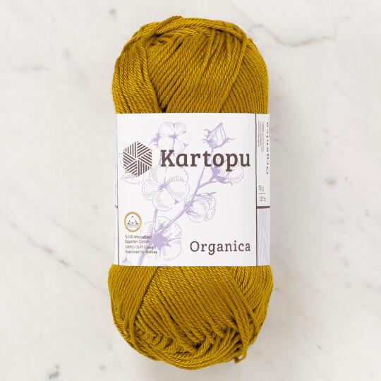 Kartopu Organica 50gr Koyu Zeytin Yeşili El Örgü İpi - K1359