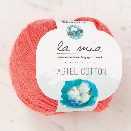 La Mia Pastel Cotton Nar Çiçeği El Örgü İpi - L180