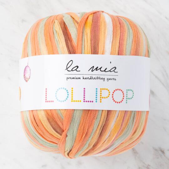 La Mia Lollipop Ebruli Yumuşak Kağıt El Örgü İpliği - LL006