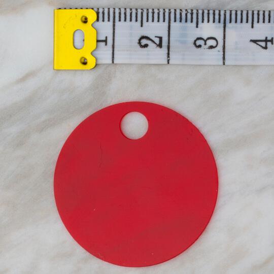 Loren 30 mm 100gr Kırmızı Pul R-165