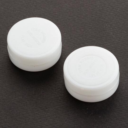 Loren 2'li 3 cm Beyaz Çıngırak