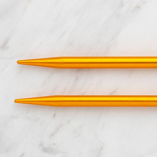 Kartopu 6 mm 25 cm Sarı Renkli Metal Çocuk Şişi