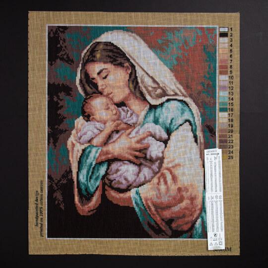ORCHİDEA 40 x 50 cm Anne ve Bebeği Baskılı Goblen  80003M
