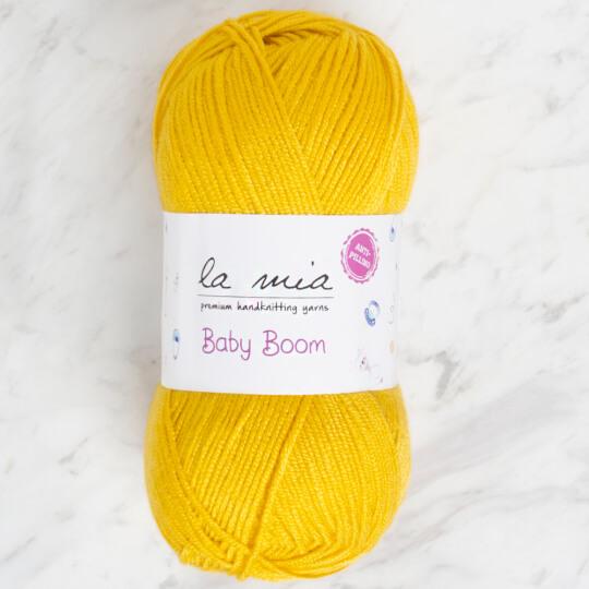 La Mia Baby Boom Sarı El Örgü İpi - 1321