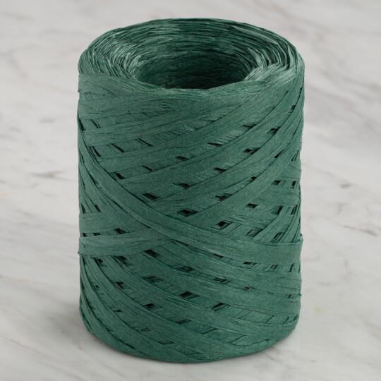 Loren Natural Raffia 90 gr Yeşil kağıt İp - 48