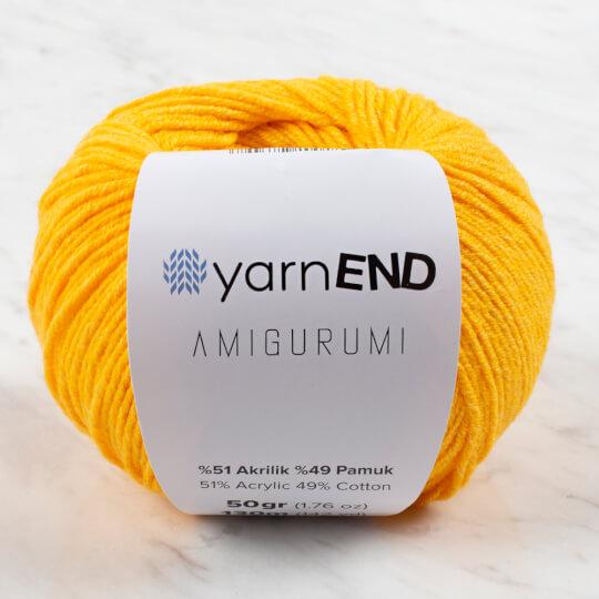 YarnEND Amigurumi Sarı El Örgü İpi - 006