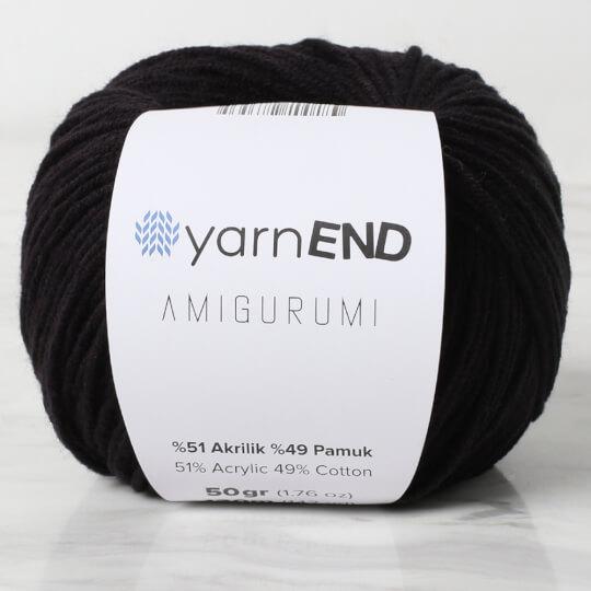 YarnEND Amigurumi Siyah El Örgü İpi - 042