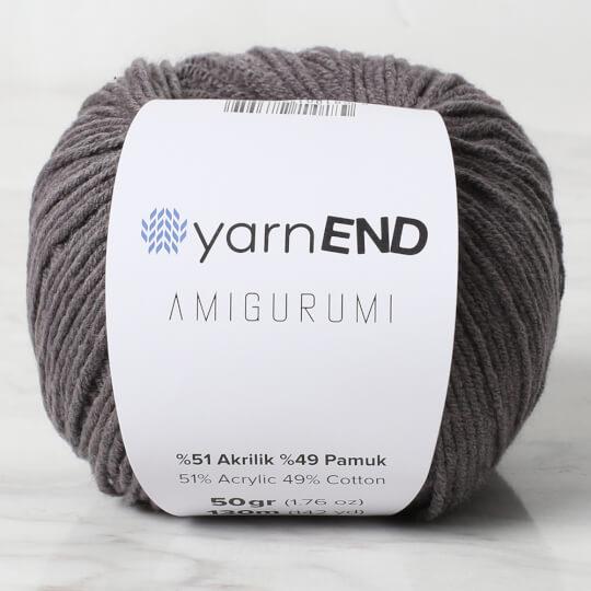 YarnEND Amigurumi Koyu Gri El Örgü İpi - 065