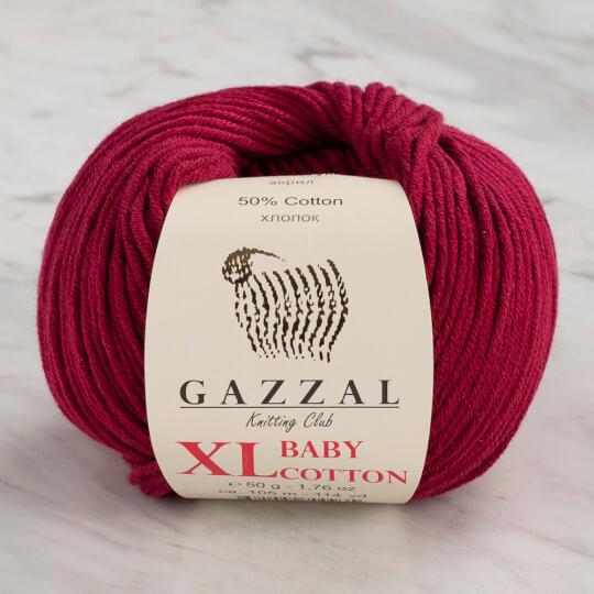Gazzal Baby Cotton XL Mürdüm Bebek Yünü - 3442
