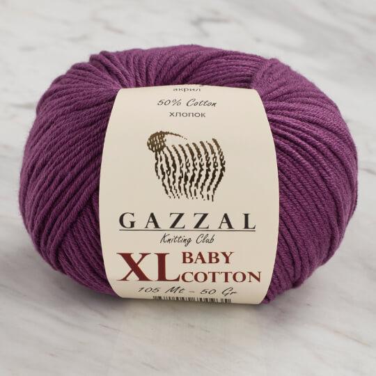 Gazzal Baby Cotton XL Mor Bebek Yünü - 3441
