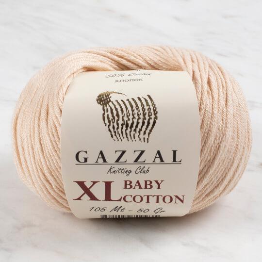 Gazzal Baby Cotton XL Açık Bej Bebek Yünü - 3445XL