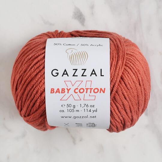Gazzal Baby Cotton XL Tarçın Bebek Yünü - 3454XL