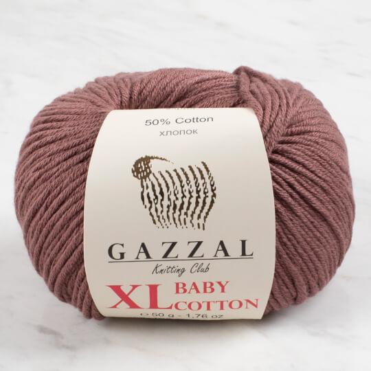 Gazzal Baby Cotton XL Sütlü Kahve Bebek Yünü - 3455XL
