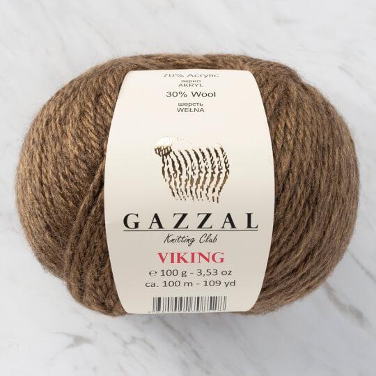 Gazzal Viking Kahverengi El Örgü İpliği - C4002