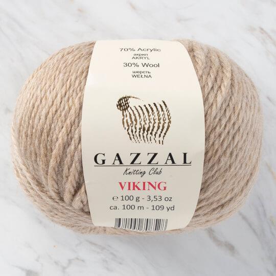 Gazzal Viking Bej El Örgü İpliği - C4008