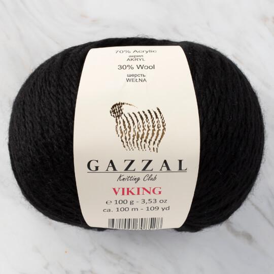 Gazzal Viking Siyah El Örgü İpliği - C4018