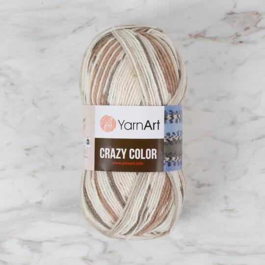 YarnArt Crazy Color Ebruli El Örgü İpi - 145