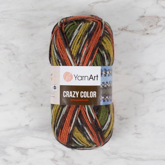 YarnArt Crazy Color Ebruli El Örgü İpi - 163