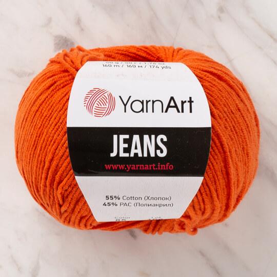 Yarnart Jeans Turuncu El Örgü İpliği - 85