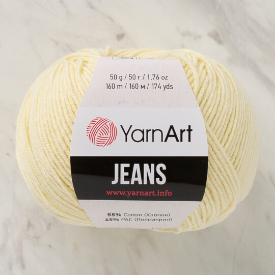 Yarnart Jeans Bebek Sarısı El Örgü İpliği - 86